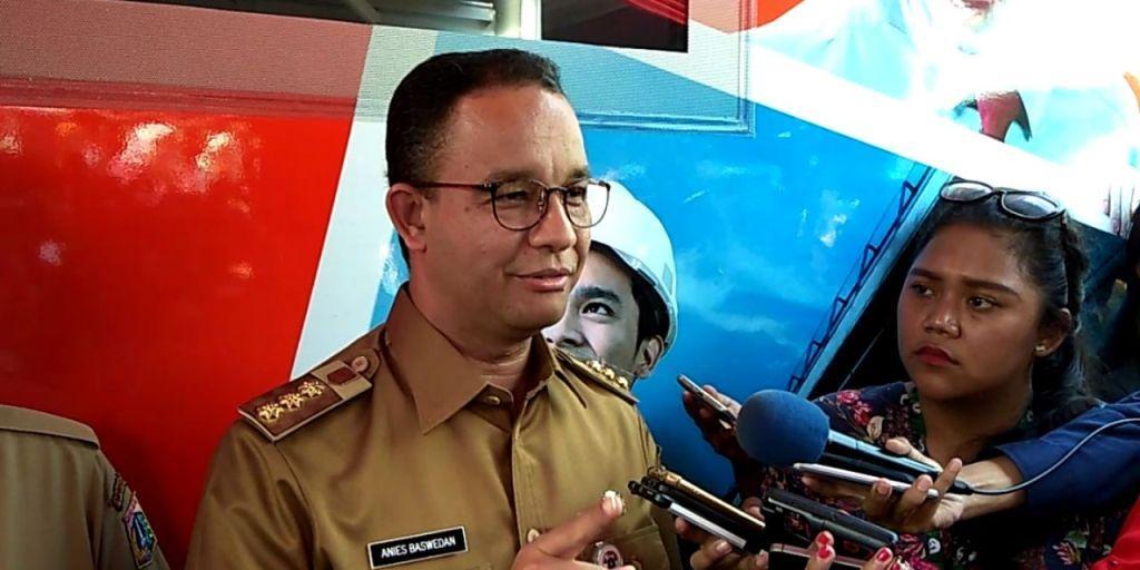 Gubernur Anies Pastikan Jakarta Aman