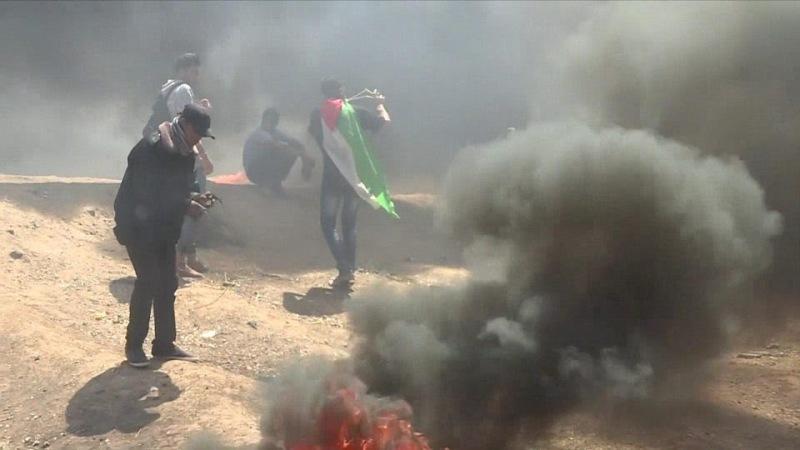 18 Warga Palestina Tewas Ditembak Jelang Peresmian Kedubes AS