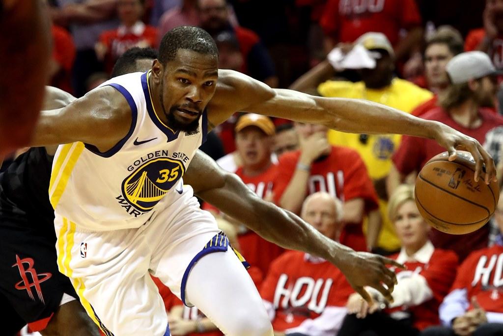 Durant Bantu Warriors Atasi Rockets pada Game Pertama
