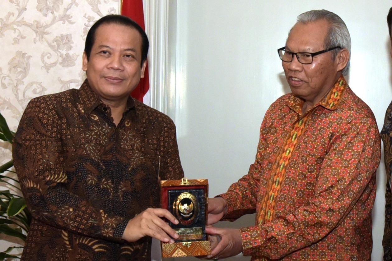 Pimpinan DPR Tinjau Potensi Kerja Sama Indonesia dan Denmark