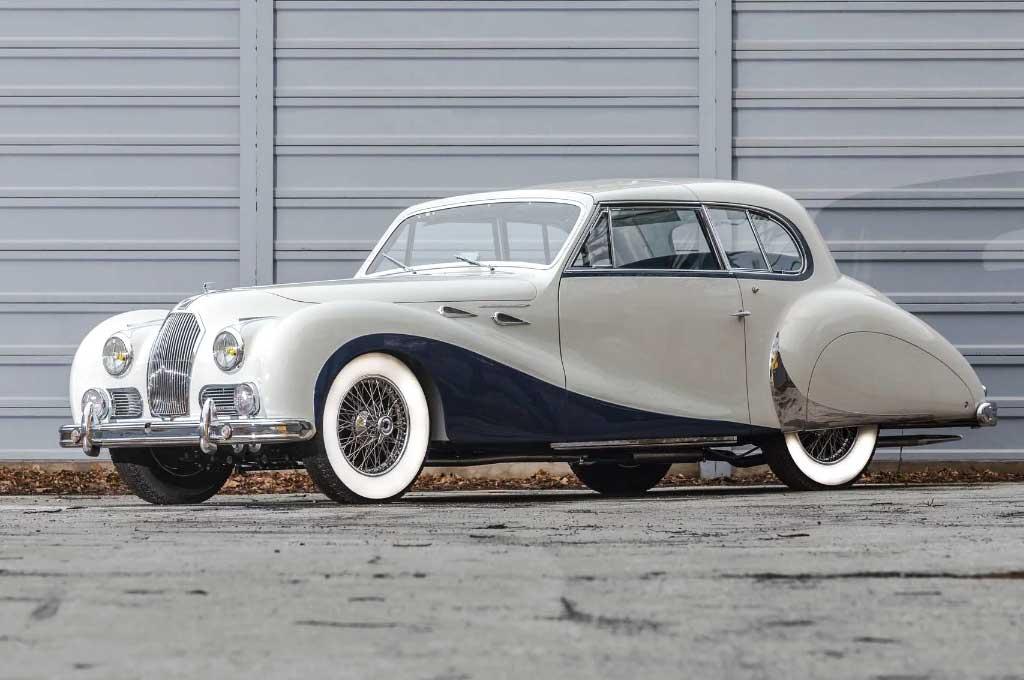 Legenda Mobil Klasik Talbot-Lago T26 1948