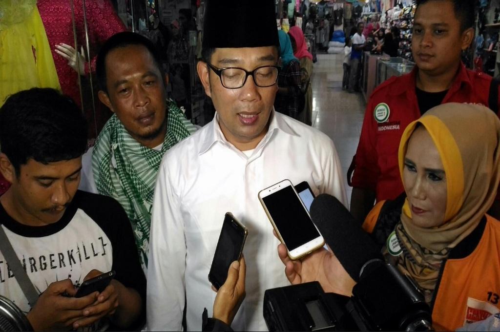Ridwan Kamil Targetkan Kemenangan di Garut