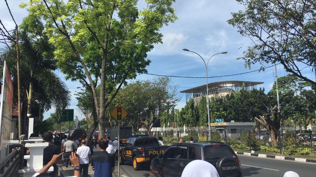 Sejumlah Jalan di Pekanbaru Dialihkan