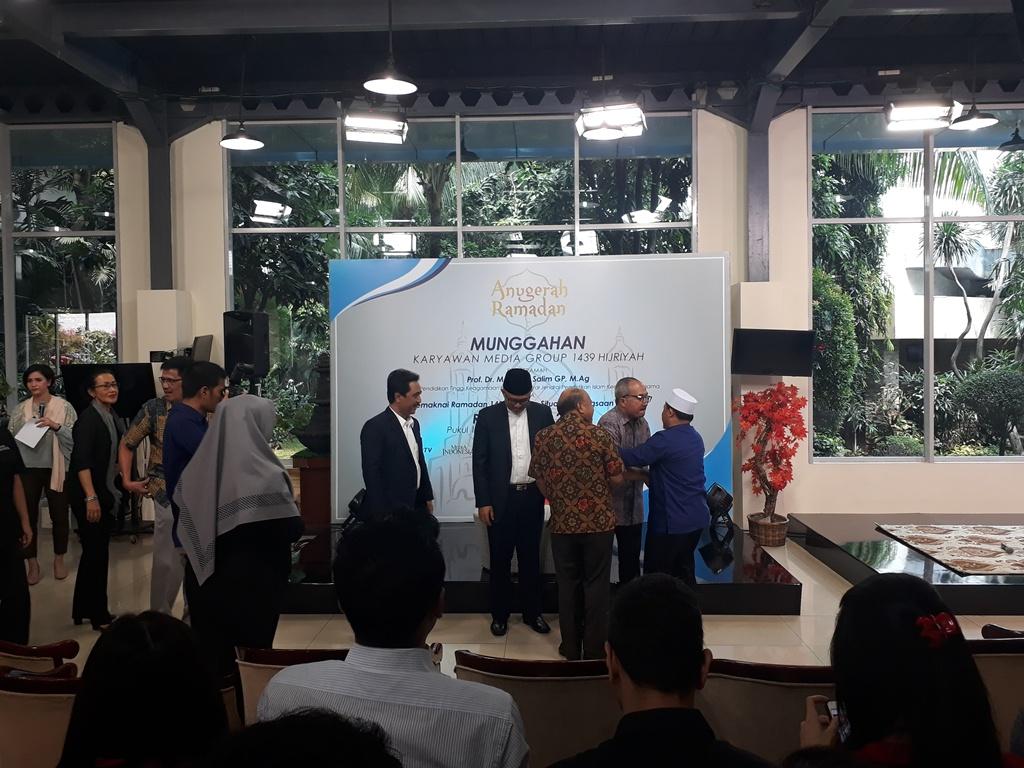 Jelang Ramadan Media Group Gelar Munggahan