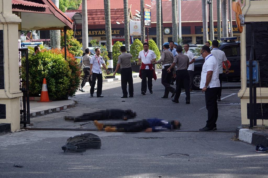 Pelaku Penyerangan di Mapolda Riau Diduga Jaringan Abu Afif