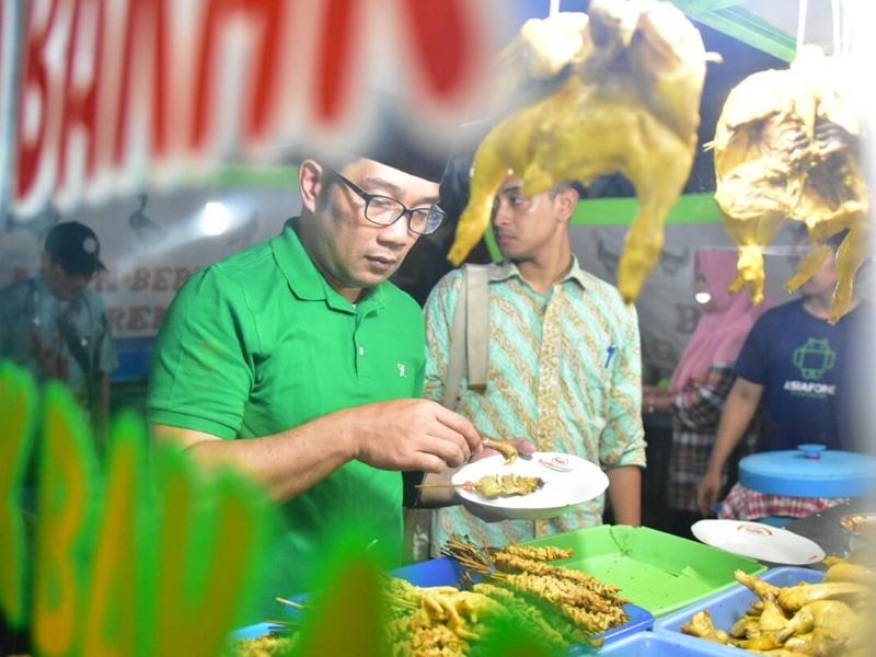 Ridwan Kamil Ingin Hidupkan Pasar Malam Kuliner