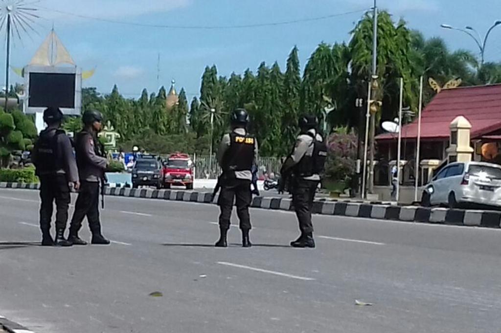 Polri: Pelaku Teror Polda Riau Kelompok ISIS