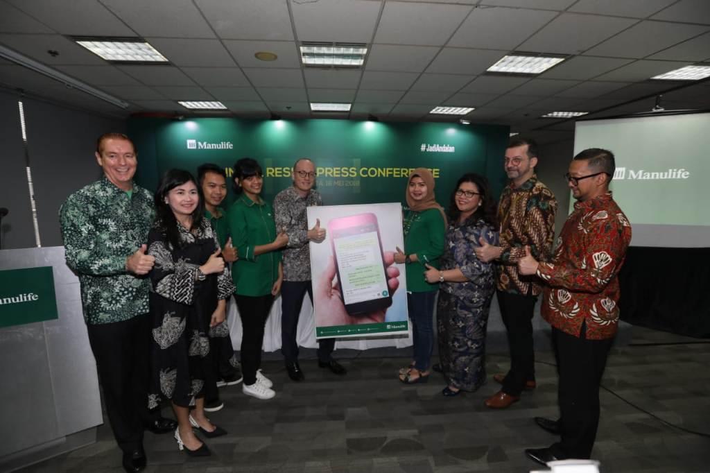 Laba Manulife Indonesia Melonjak ke Rp2,6 Triliun