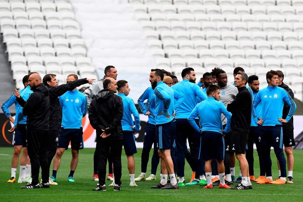 Susunan Pemain Marseille vs Atletico Madrid