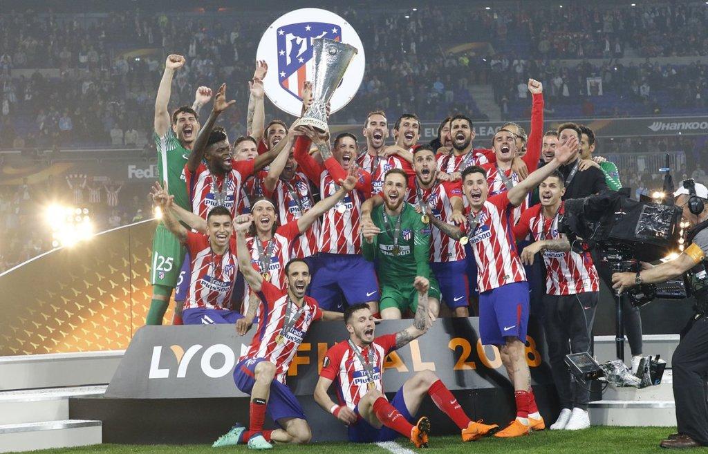 Bantai Marseille, Atletico Madrid Juara Liga Europa 2017--2018