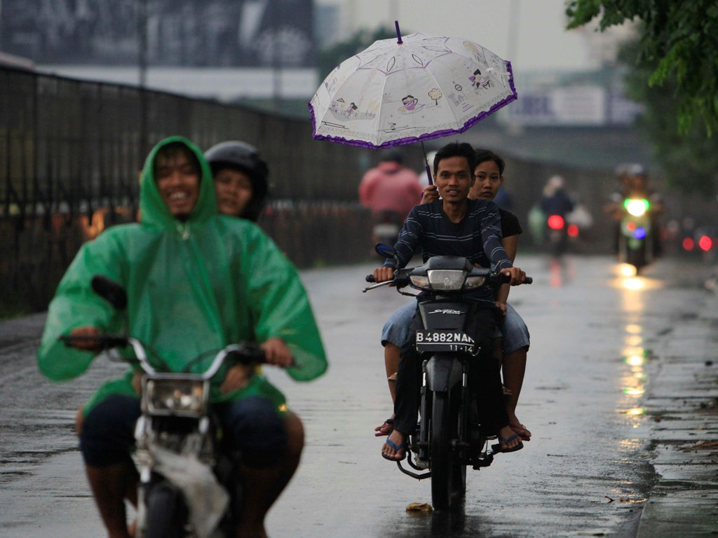 Awal Ramadan, Jakarta Berpotensi Diguyur Hujan