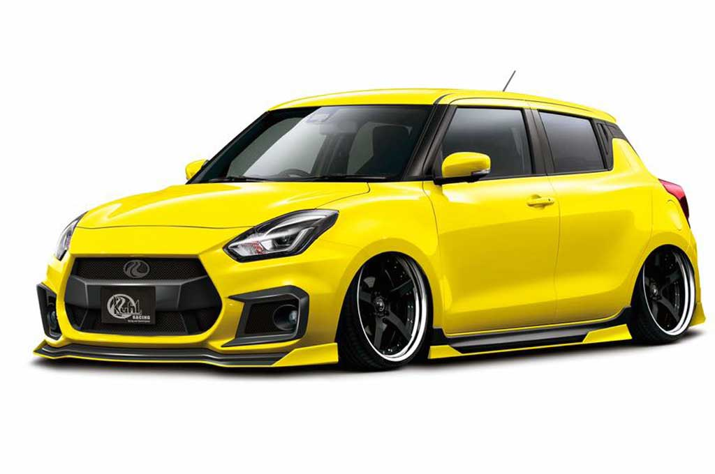 Tampang Agresif Suzuki Swift ala Kuhl Racing