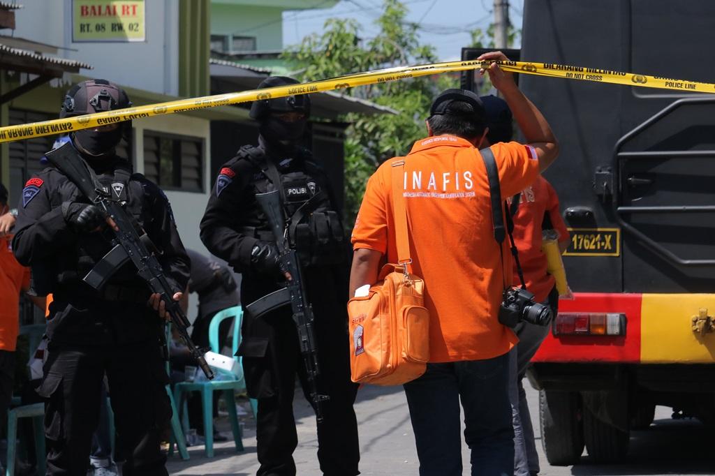 Ratusan Bahan Pembuat Bom Disita dari Rumah Terduga Teroris