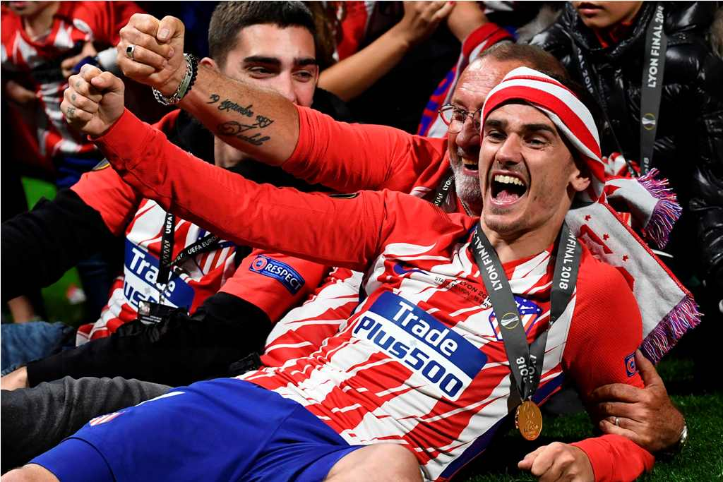Griezmann Bisa Jadi Legenda di Atletico Madrid