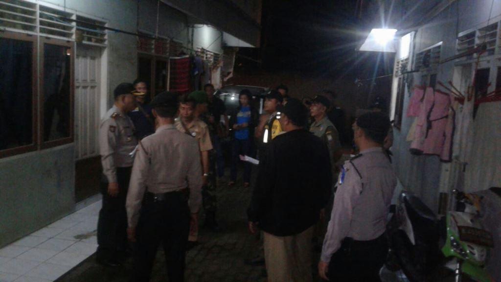 Polisi Sisir Indekos di Tangerang