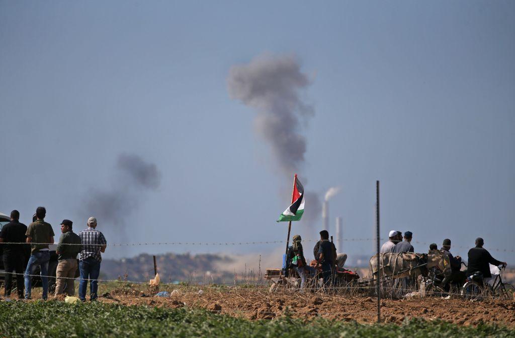 Israel Kembali Serang Fasilitas Hamas di Gaza