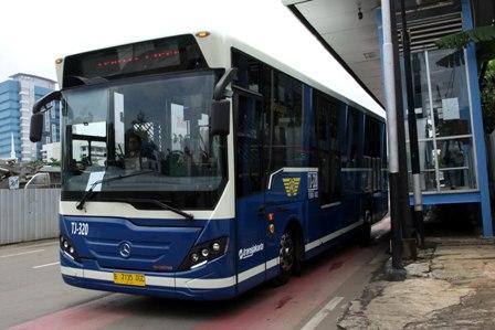 Bus Listrik Dioperasikan saat Asian Games