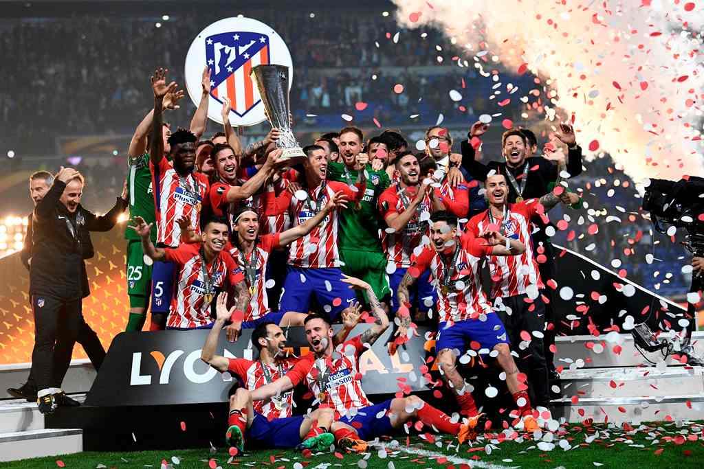 Atletico Madrid Juara Liga Europa, Gabi Jilat Ludah Sendiri