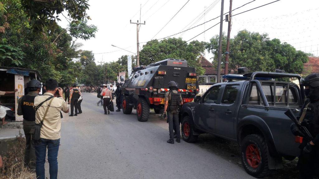 Terduga Teroris Ditangkap di Cirebon