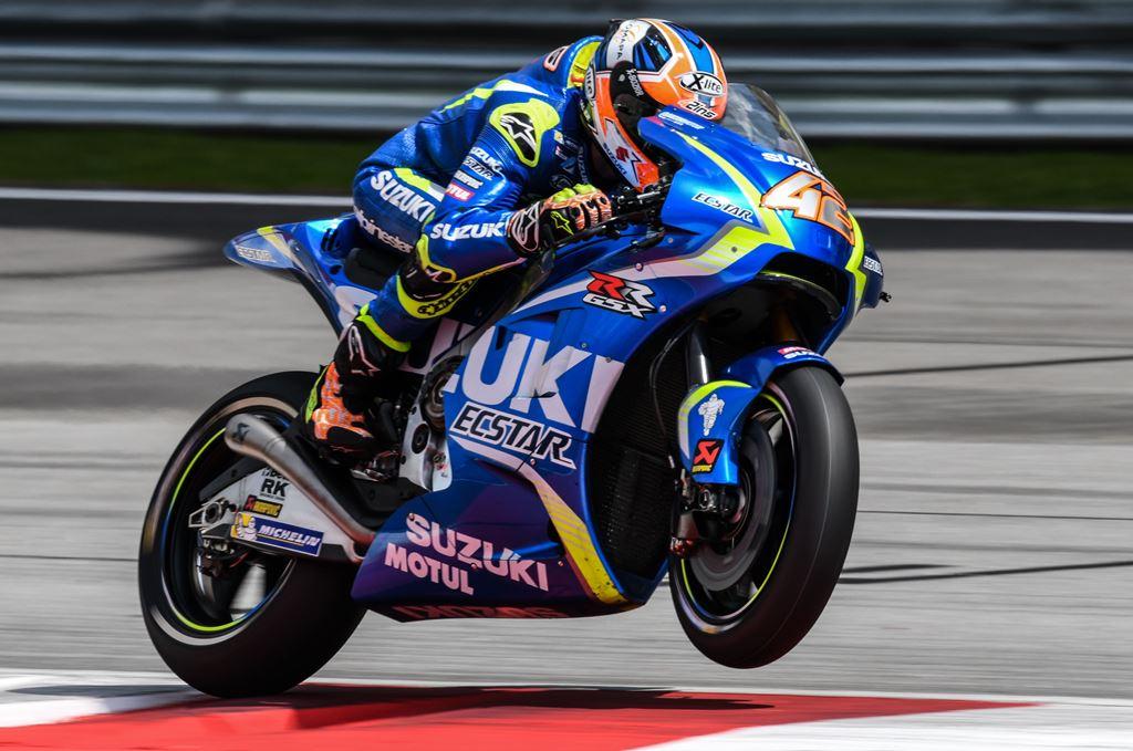Rins Perpanjang Kontrak dengan Suzuki