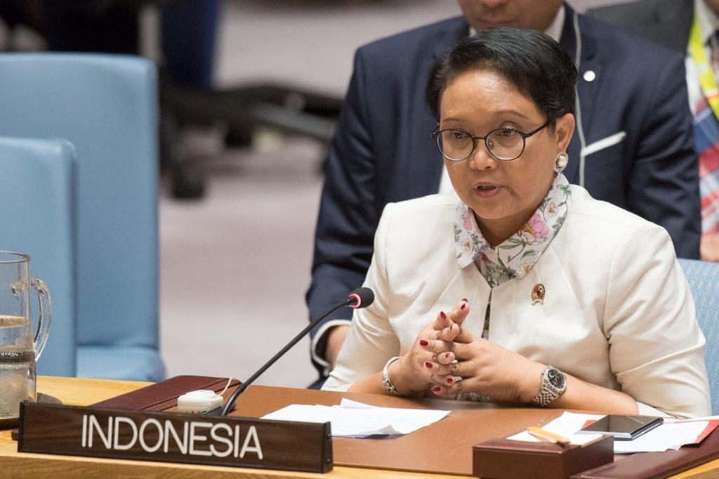 Menlu Tegaskan Perang Indonesia Lawan Terorisme di DK PBB