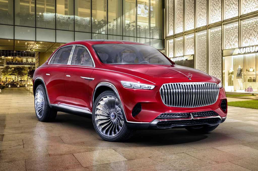 Mercedes-Maybach Kembangkan Sistem Suspensi Kamera