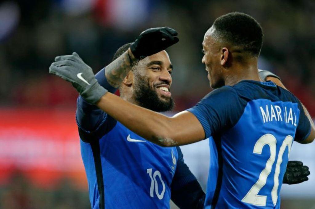 Skuat Final Prancis di Piala Dunia Minus Lacazette dan Martial