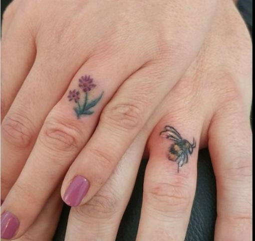 Tak Melulu Cincin, Muncul Tren Tato Sebagai Simbol Pernikahan