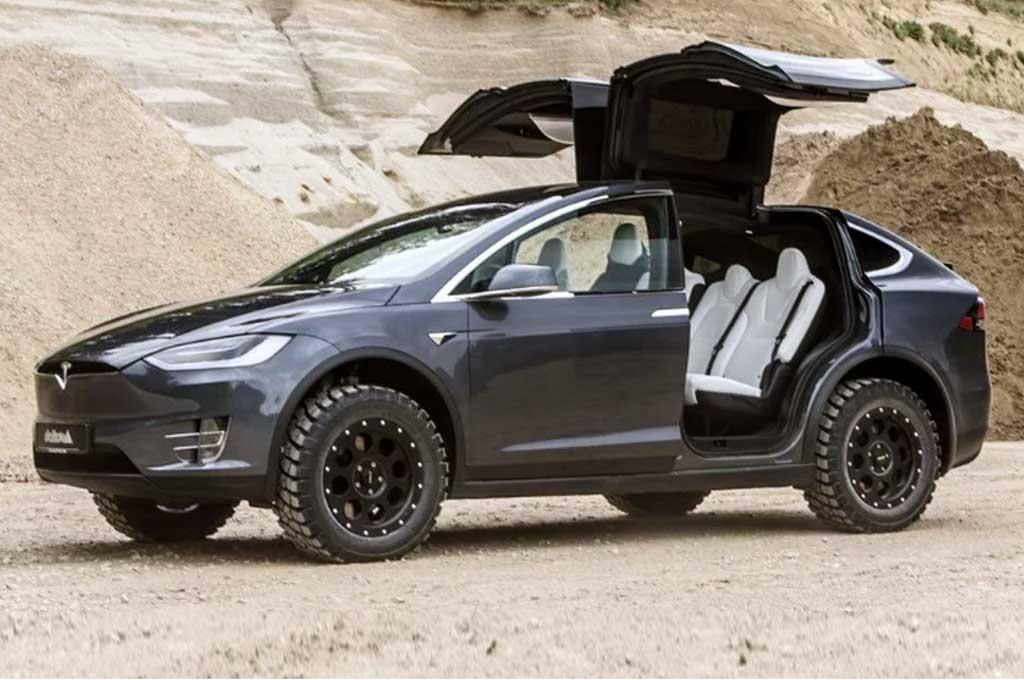 Tesla Model X Jajal Gaya Offroad