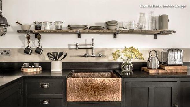 Cara murah memperluas dapur