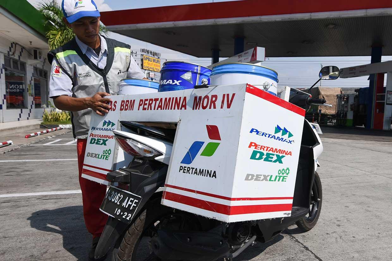 Mudik Lebaran, Pertamina Siapkan 200 Motor Satgas BBM