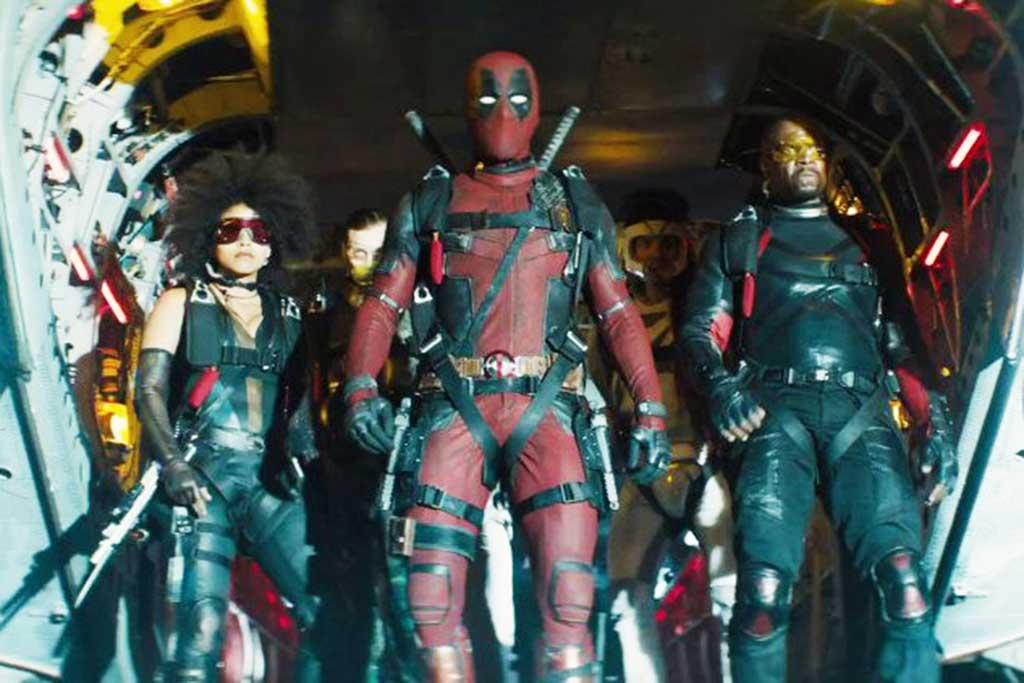 Akhir Pekan Pertama, Deadpool 2 Raup  Rp4,2 T