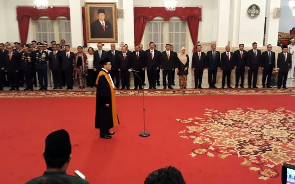 Sunarto Dilantik Jadi Wakil Ketua MA