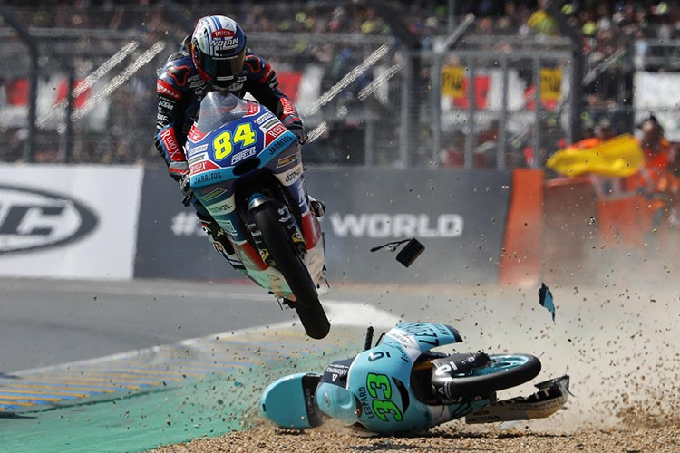 Rahasia Pembalap Moto3 Selamat dari Kecelakaan
