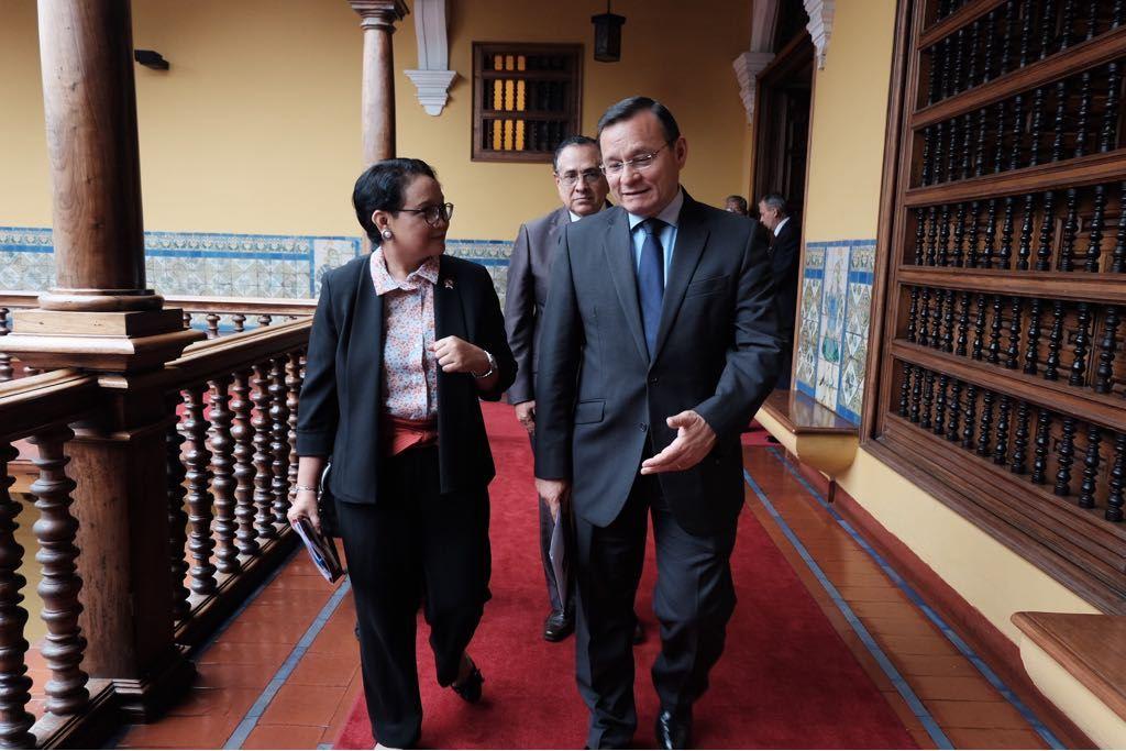 Indonesia Komitmen Tingkatkan Kerja Sama Ekonomi dengan Peru