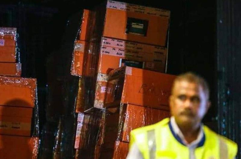 Polisi Pindahkan Uang Diduga Hasil Korupsi 1MDB
