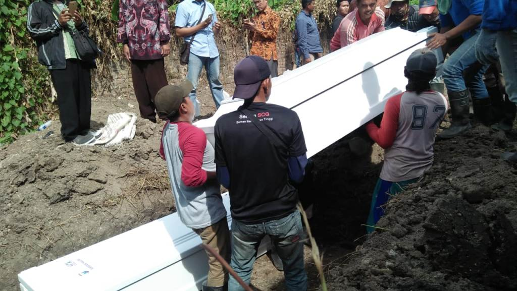 Pengebom Gereja Pantekosta Pusat Surabaya Dimakamkan