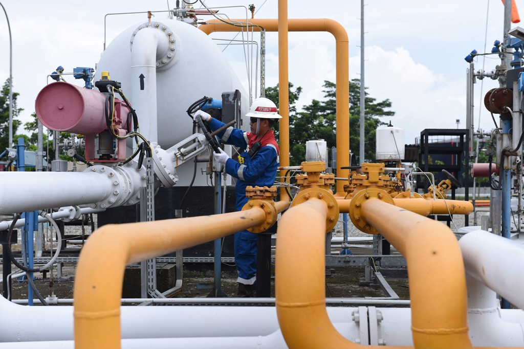 Produksi Gas PHE Naik 2% di Kuartal I-2018