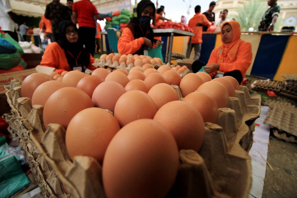Dua Faktor Sumbang Kenaikan Harga Telur dan Daging Ayam