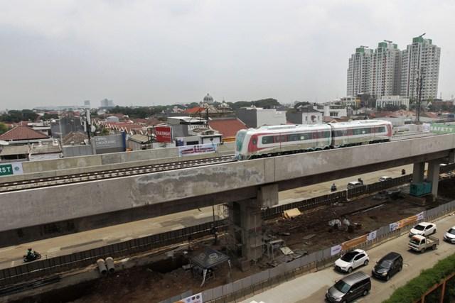 Adhi Karya Optimistis LRT Jabodebek Rampung Tepat Waktu