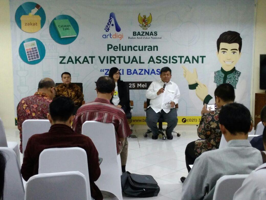 BAZNAS Luncurkan Zakat Virtual Assistant Pertama di Indonesia