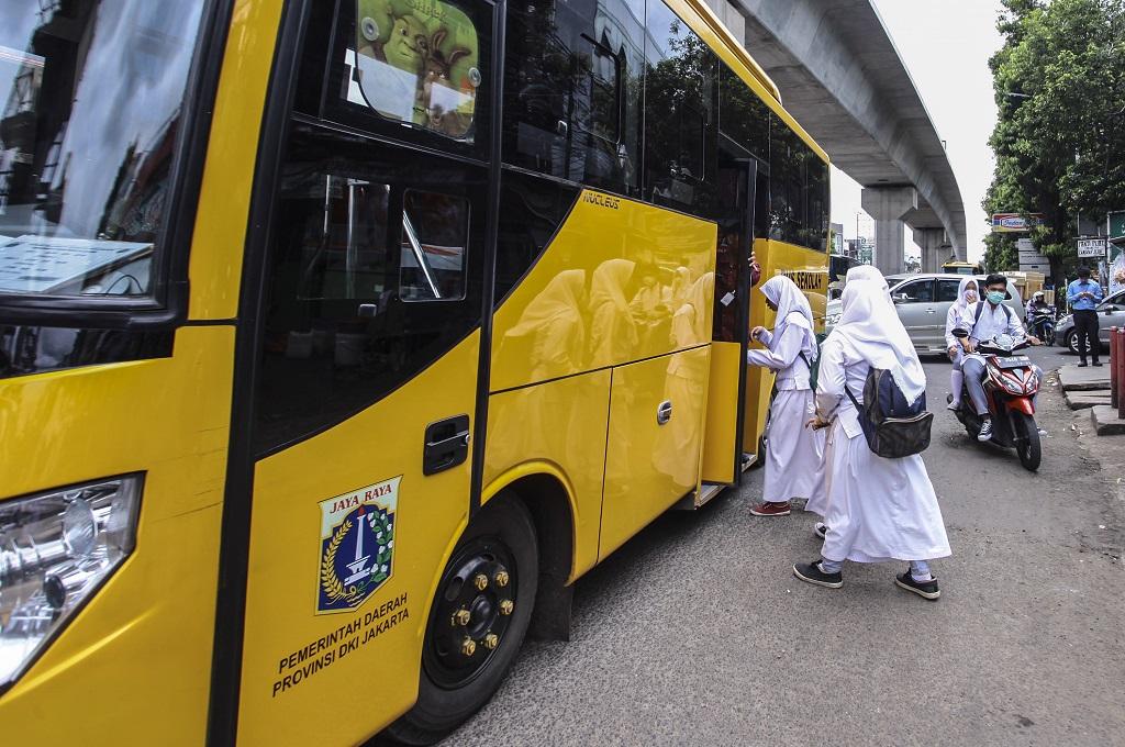 Angkutan Umum di Sidoarjo akan Antar Jemput Anak Sekolah