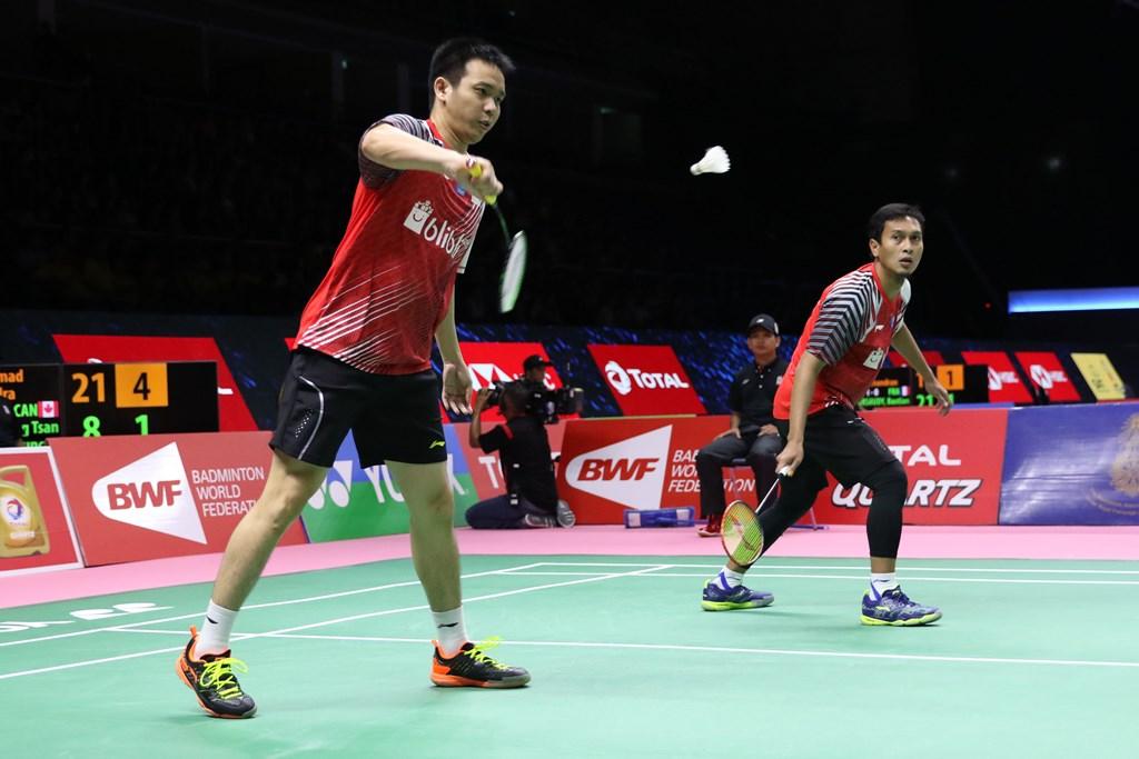 Kekalahan Hendra/Ahsan Menyudahi Perlawanan Indonesia  di Semifinal