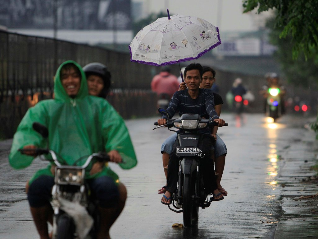 Jakarta Berpotensi Hujan di Akhir Pekan
