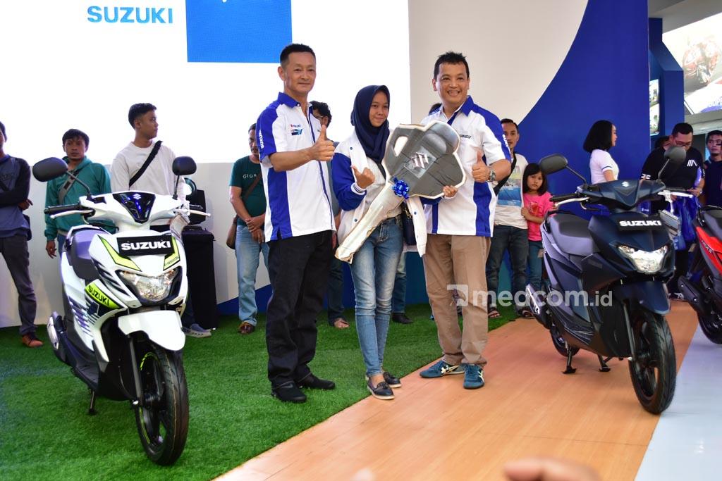 Suzuki Pasang Target Besar Buat Nex II di Jakarta Fair