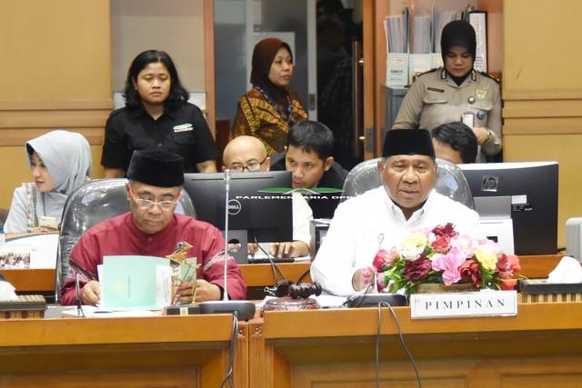 Komisi VIII Sepakati Perubahan Dana Optimalisasi Haji 2018