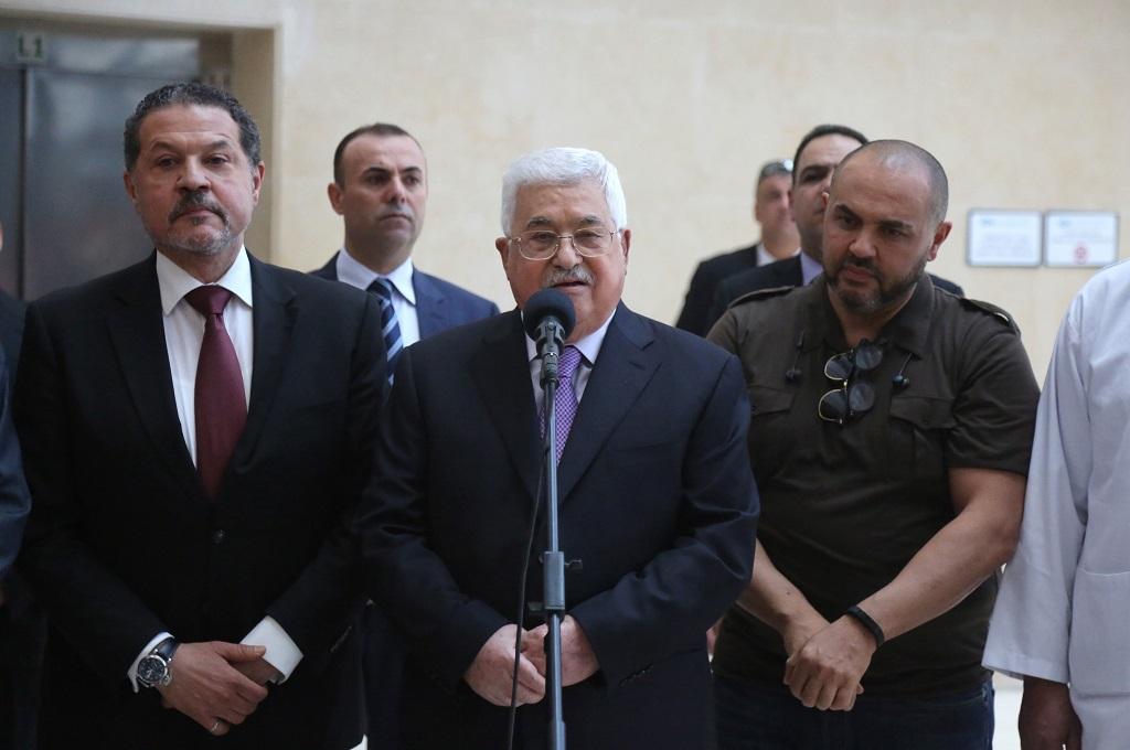 Tinggalkan RS, Presiden Palestina Siap kembali Bekerja