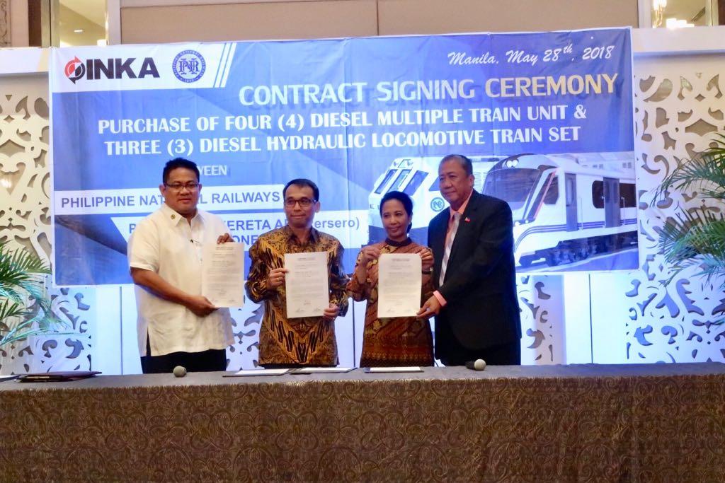 INKA-WIKA-Bank Mandiri Lebarkan Sayap Bisnis ke Filipina