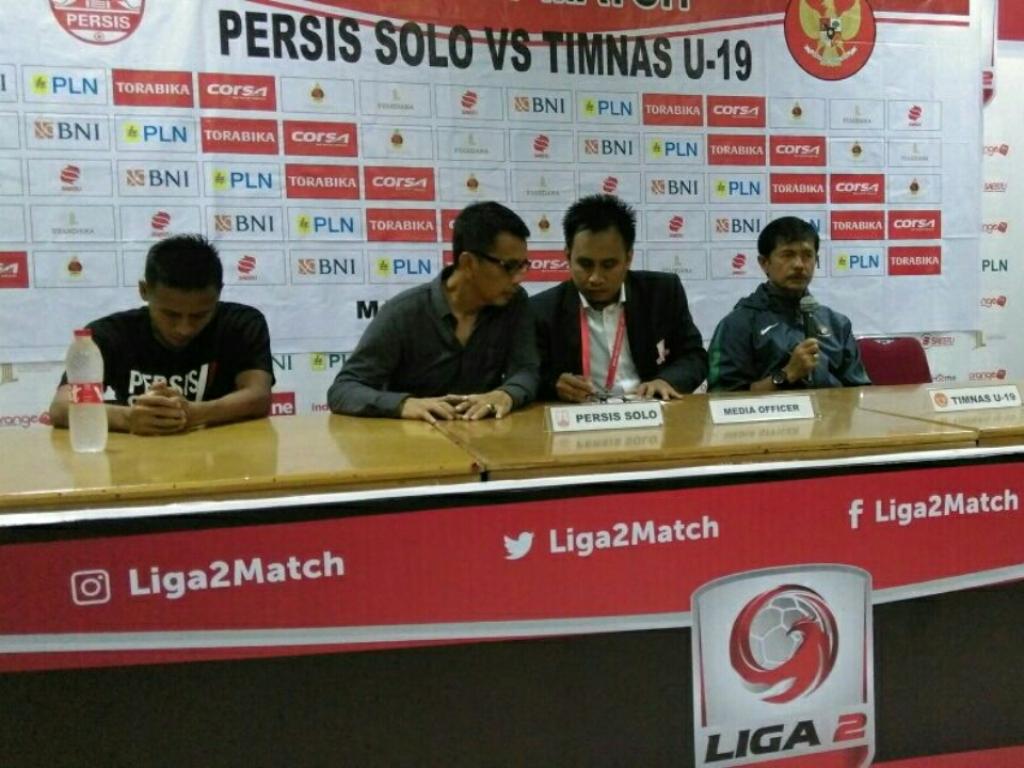 Reaksi Indra Sjafri Usai Timnas U-19 Dibekuk Persis Solo
