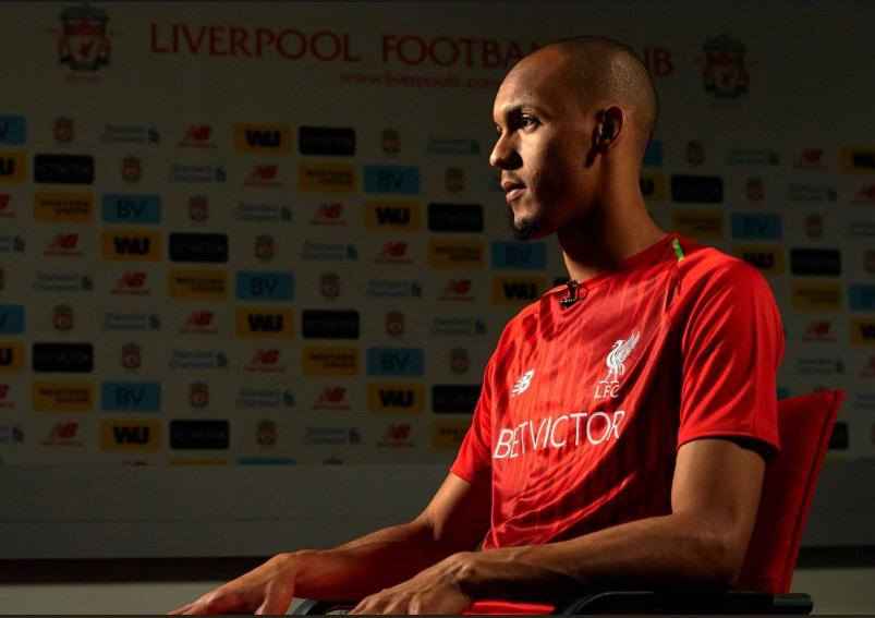 Ini Catatan Menarik Fabinho, Rekrutan Pertama Liverpool Musim 2018--2019